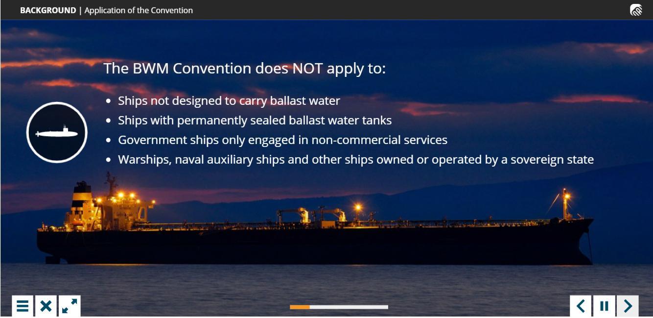 Ballast water management Training 4