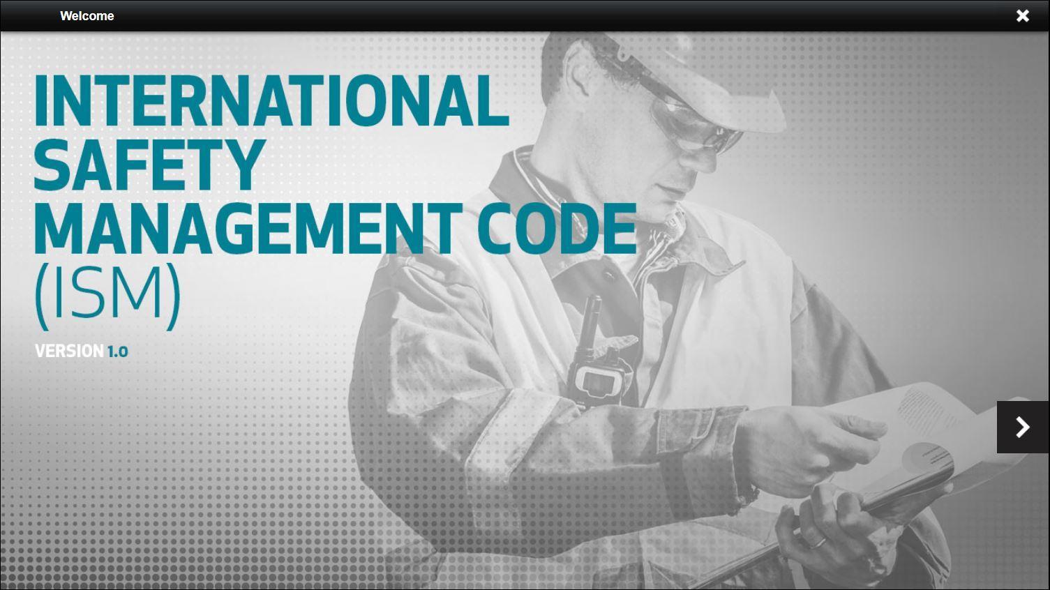International Safety Management Code ISM Training 2