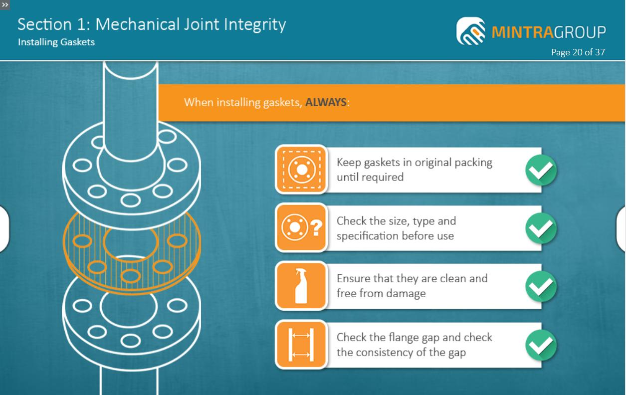 Mechanical Joint Integrity Training 2