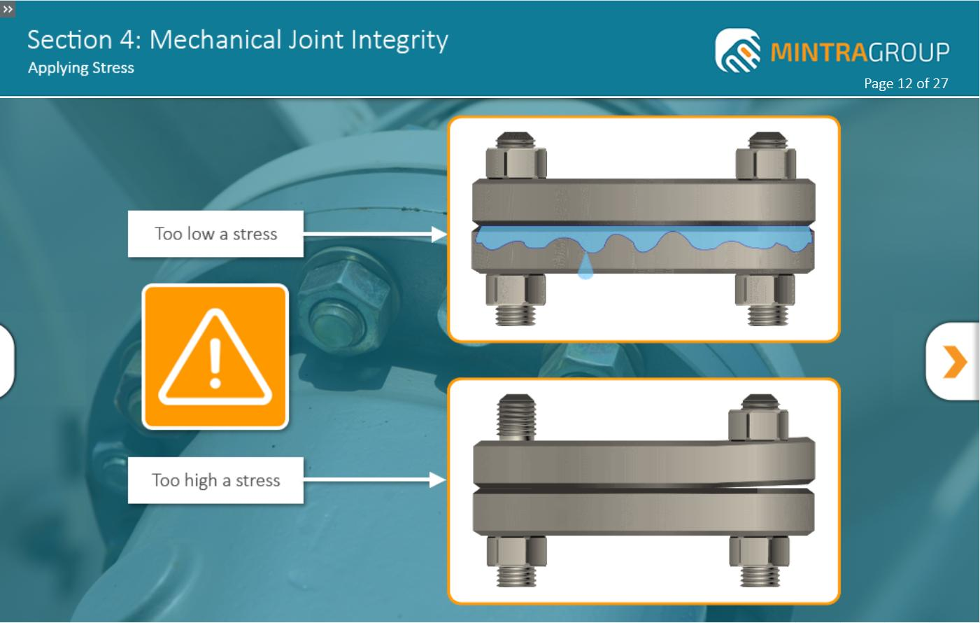 Mechanical Joint Integrity Training 5