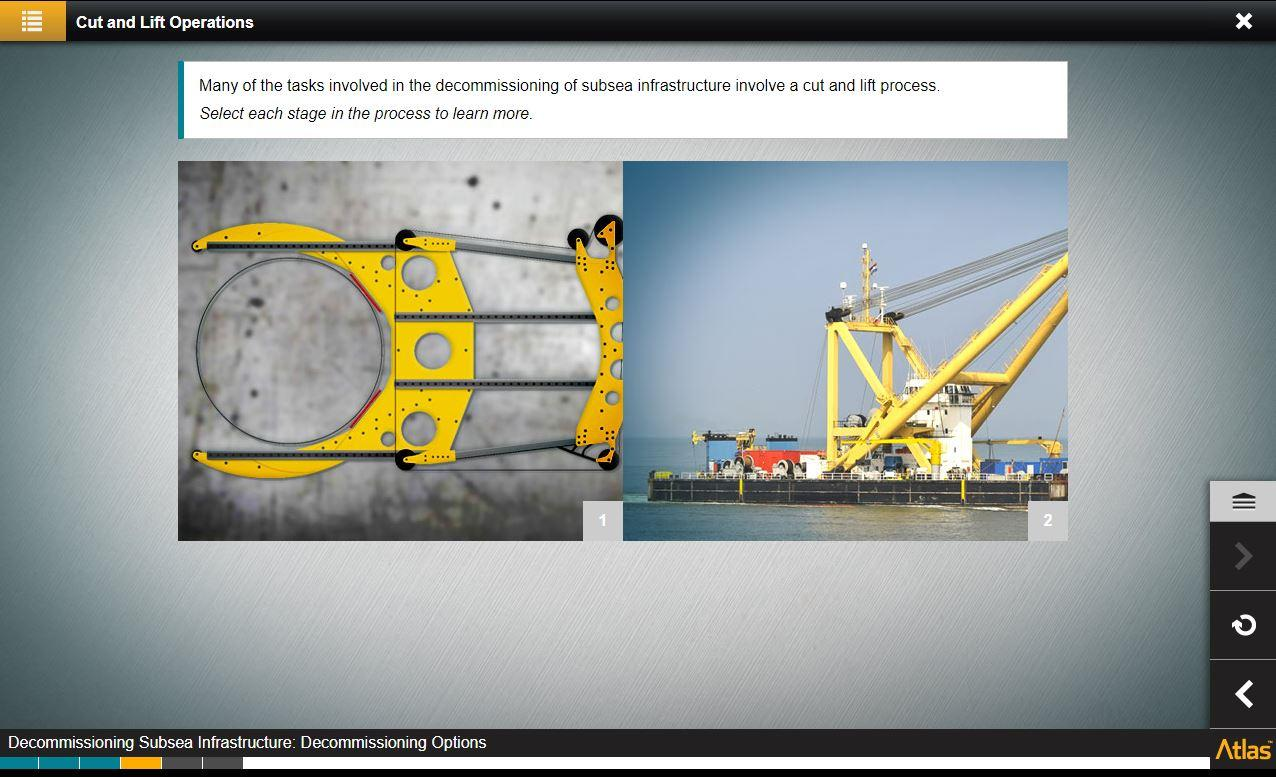 Subsea Infrastructure Decommissioning Training 3